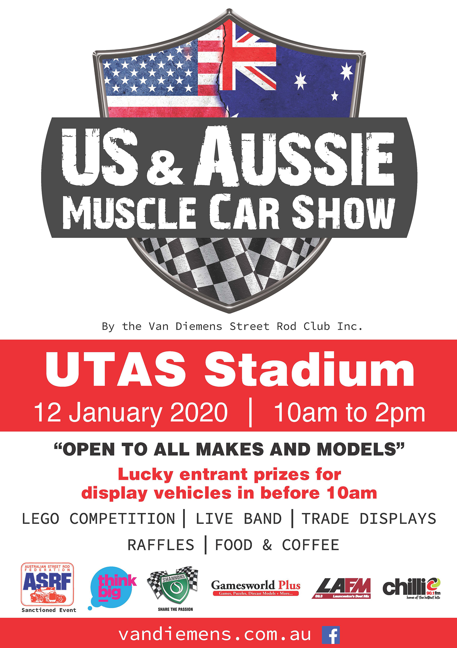 US & Aussie Muscle Car Show 2020